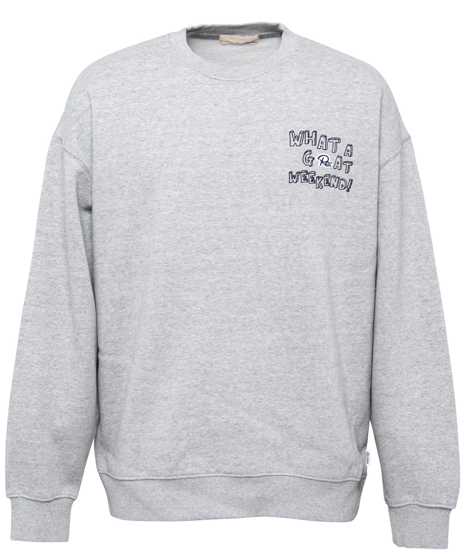Re:WAPPEN GRAFFITI EMBROIDERY BIG SWEAT[REC244]
