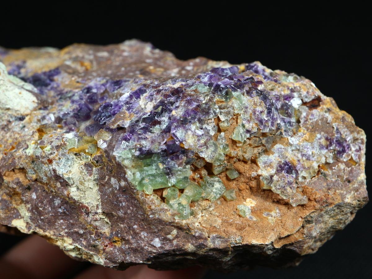 カリフォルニア産 フローライト 蛍石 原石 474,5g  FL048 鉱物 天然石 パワーストーン