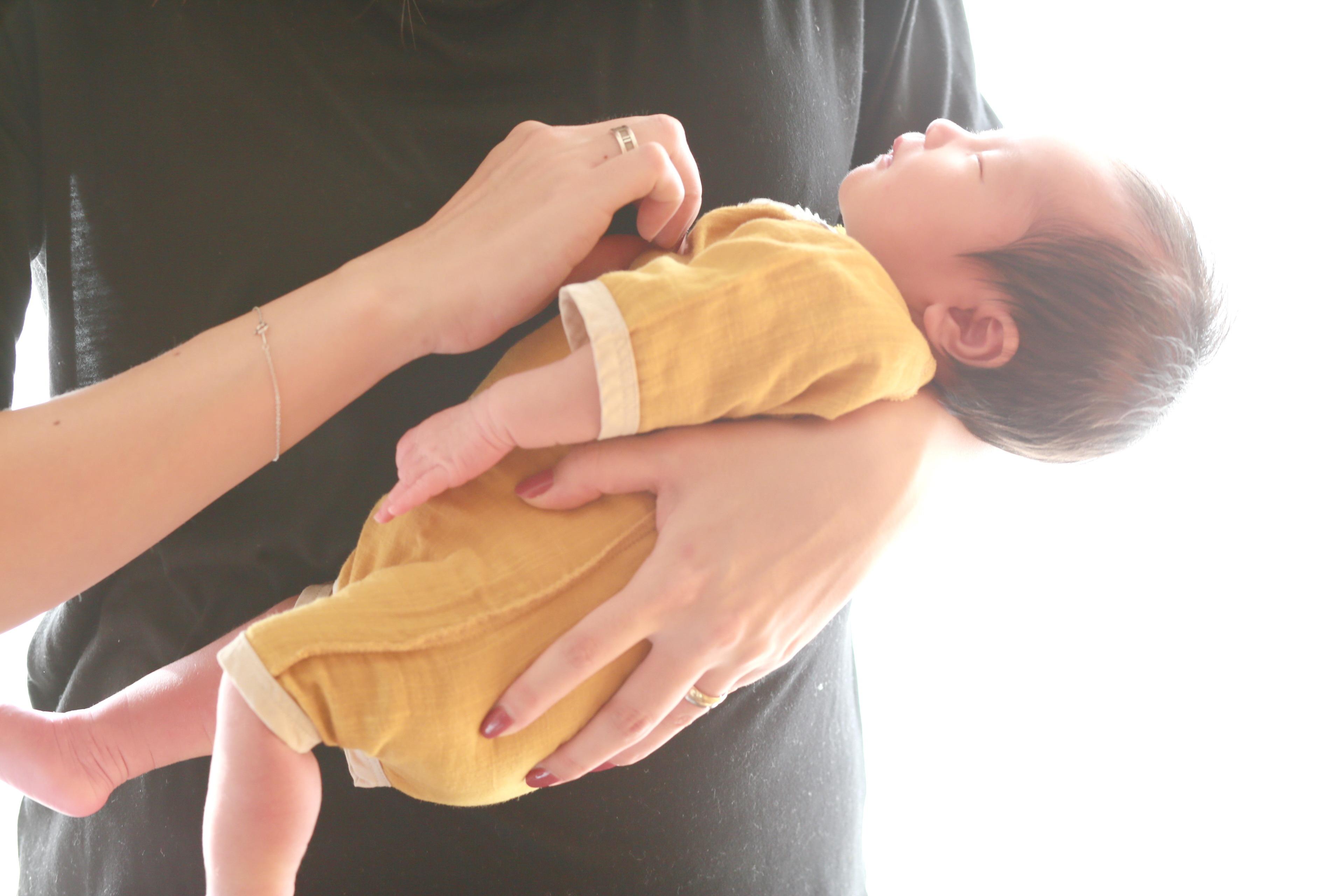 6969d12055622 ベビーコンビ肌着 未熟児 プリミーサイズ イエロー