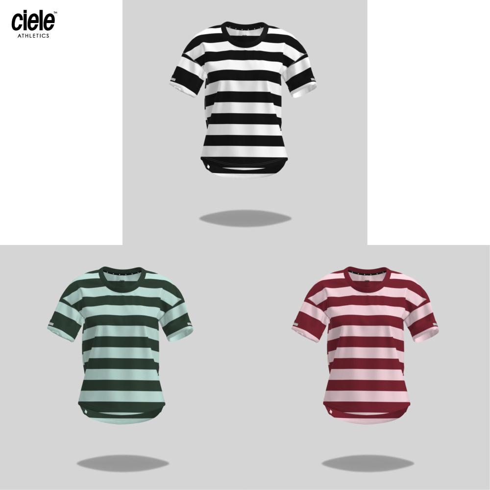 CIELE  シエル WOMENS WNSB TShirt – Stripe ウィメンズ/レディース WNSB Tシャツ ストライプ 5041918【Tシャツ】