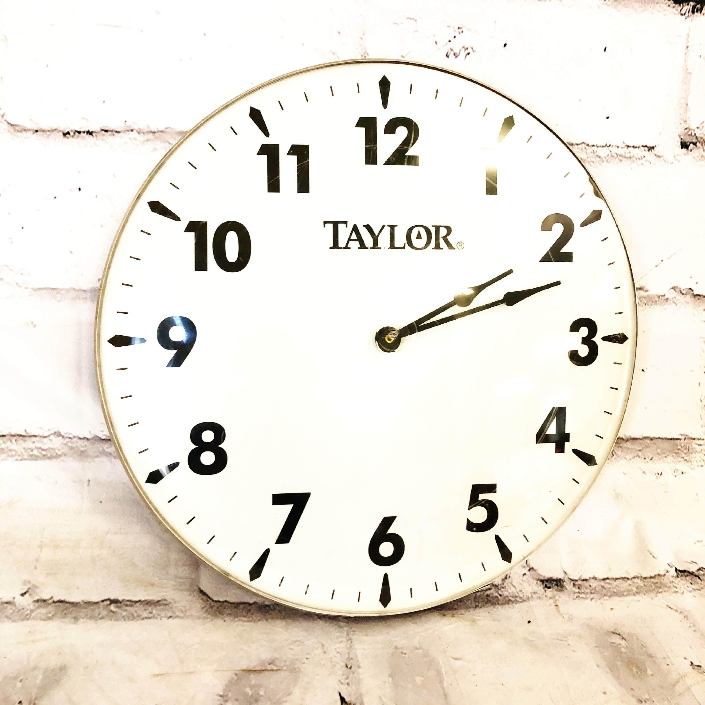 品番5605 TAYLOR Watch 掛け時計 テイラー インテリア ディスプレイ ヴィンテージ