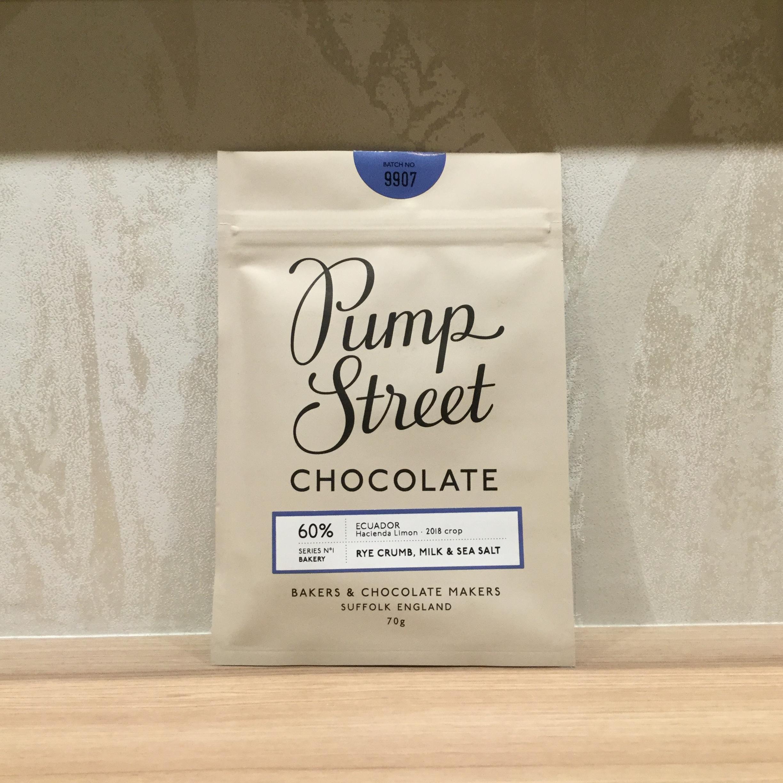 【Pump Street bakery CHOCOLATE/パンプストリートチョコレート】60%ライクラム ミルク&シーソルト
