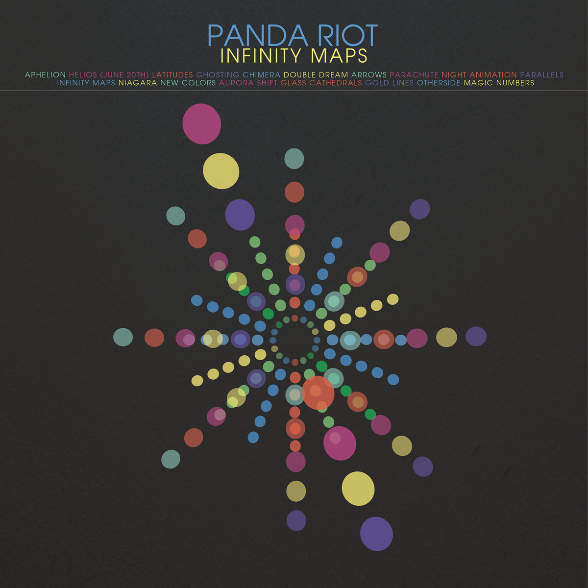 Panda Riot / Infinity Maps(Ltd LP)