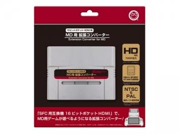 MD用 拡張コンバーター  CC-16PHM-GR   /  コロンバスサークル