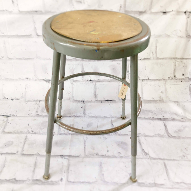 品番0464 インダストリアルチェア スツール 丸椅子 スチール製 ヴィンテージ