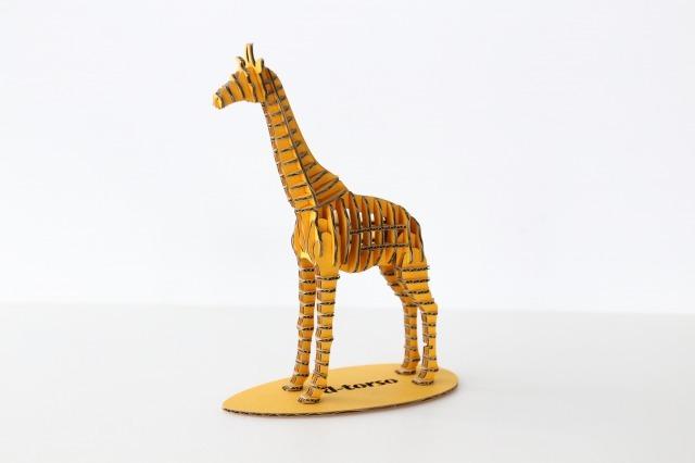 FLATS立体型パズル キリン/giraffe173