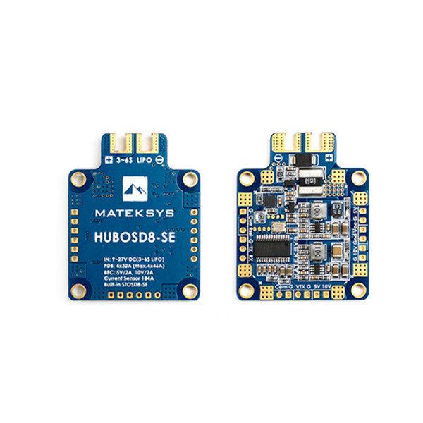 Matek Systems HUBOSD8-SE 9-27V PDB