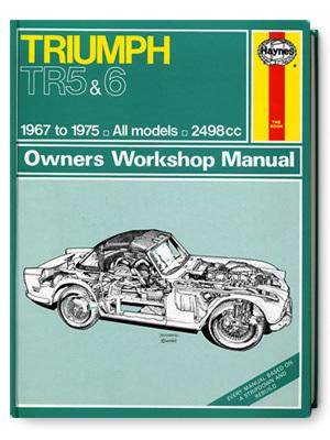 トライアンフ・TR5 & TR6・オーナーズ・ワークショップ・マニュアル