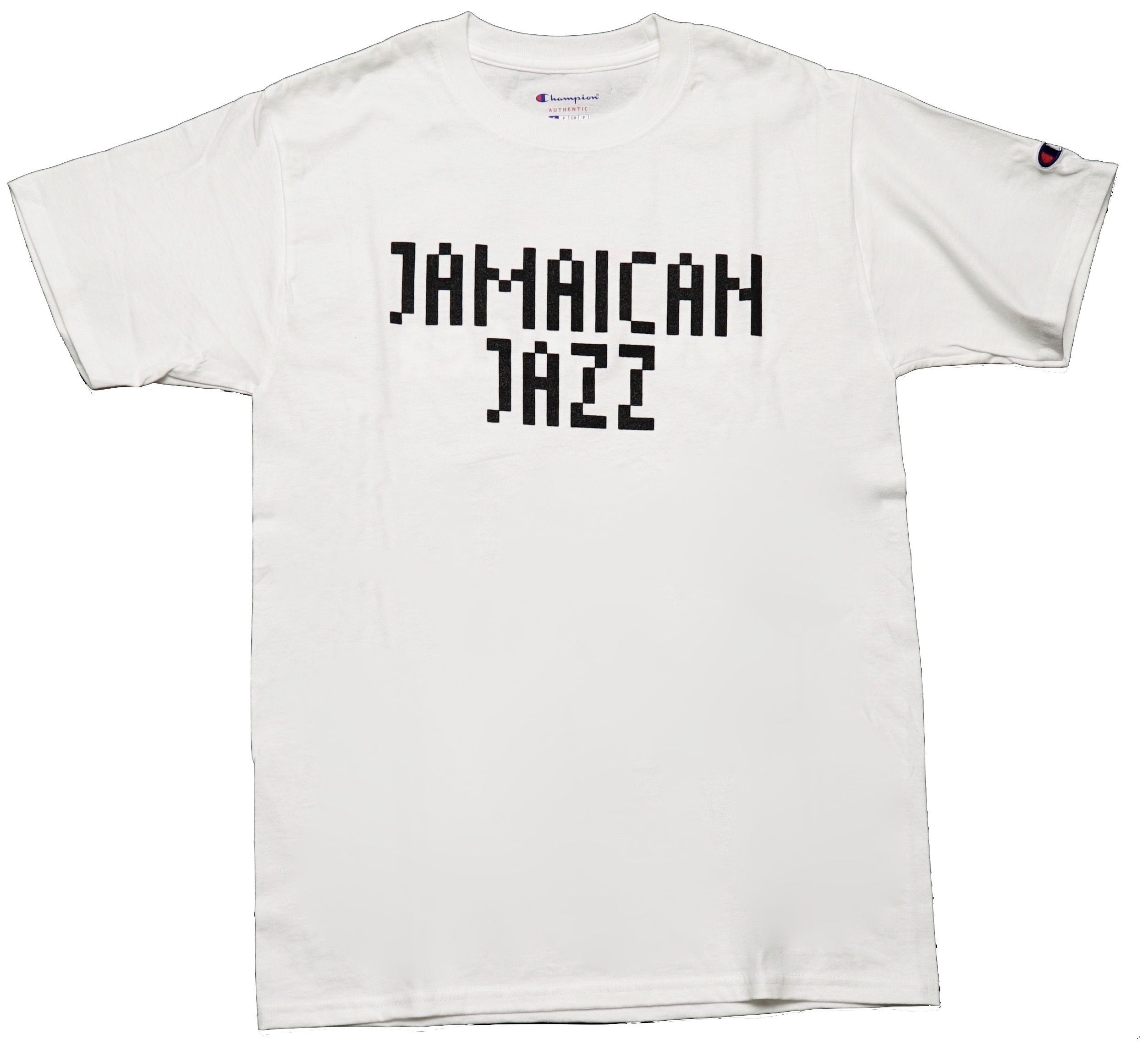 JAMAICAN JAZZ Tシャツ (ホワイト) CONTROLLER × beat sunset