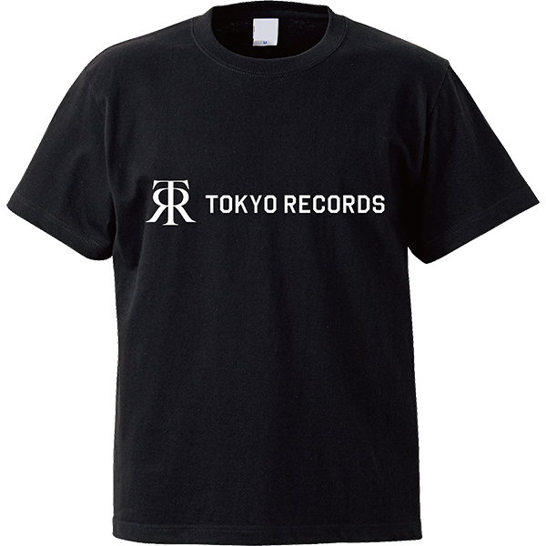 TOKYO RECORDS TEE(BLK×WHT)