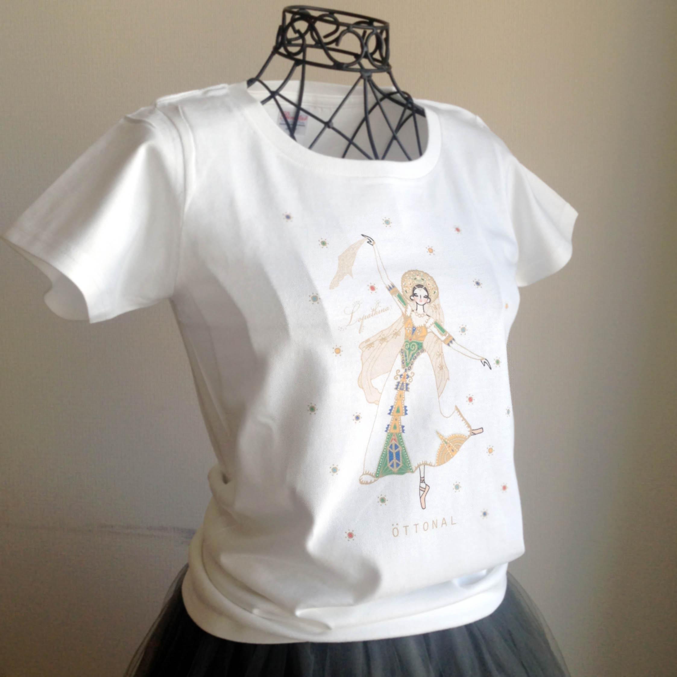 (即日発送・在庫残りわずか)★ロパートキナコラボ★ ロシアの踊りTシャツ(レディース) - 画像3