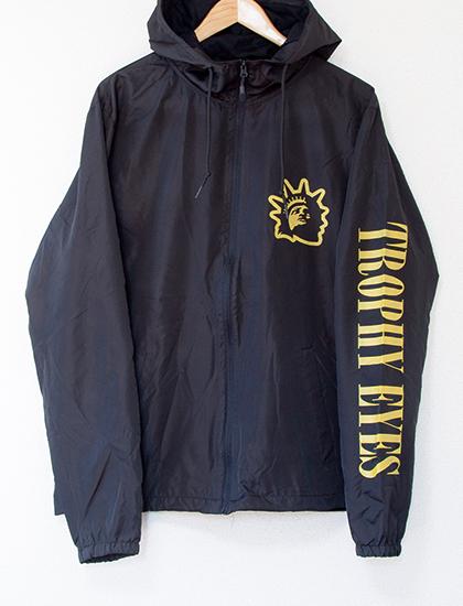 【TROPHY EYES】Liberty Logo Windbreaker (Black)