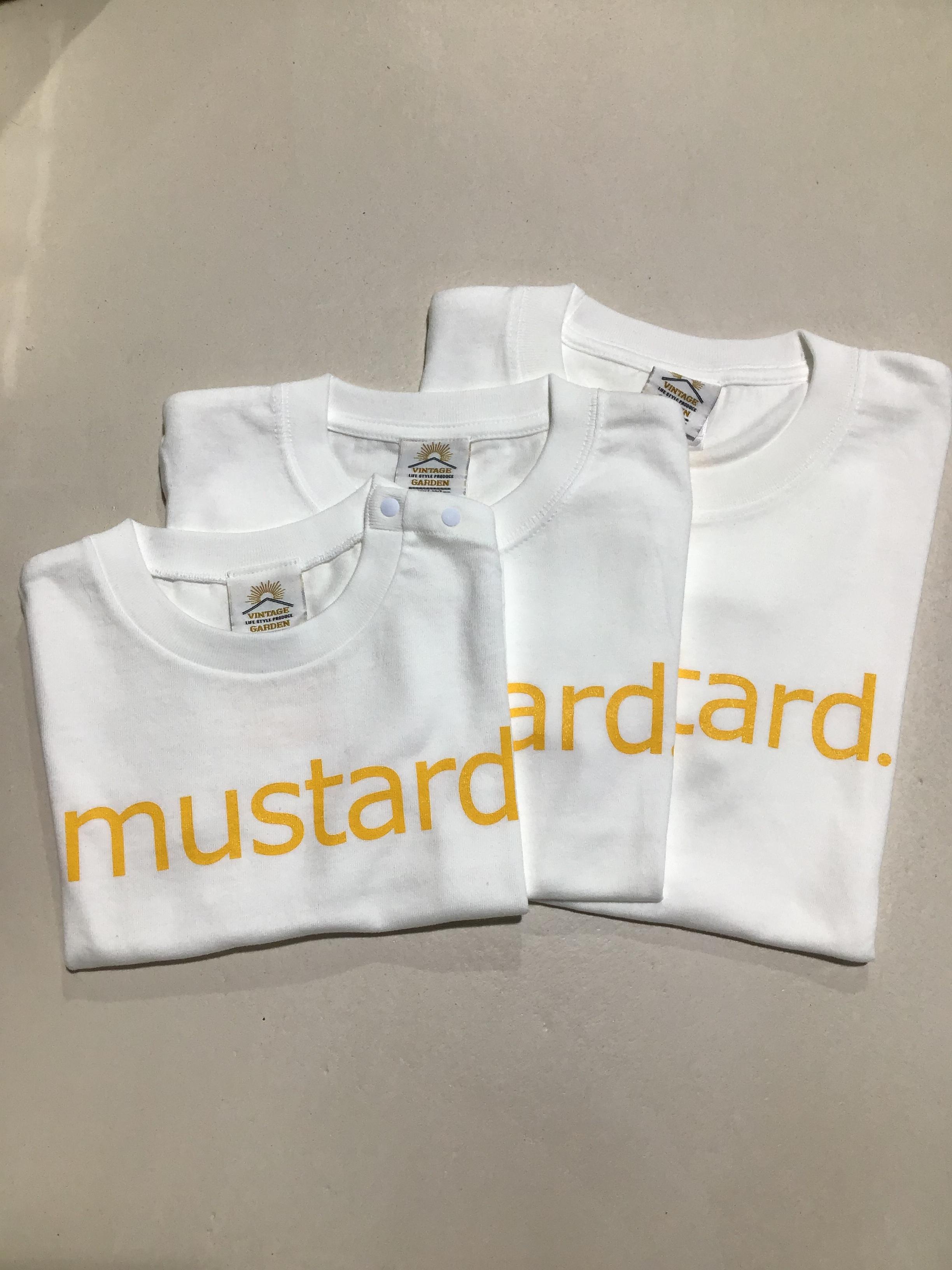 [キッズサイズ]VINTAGE GARDEN 'musterd Tシャツ
