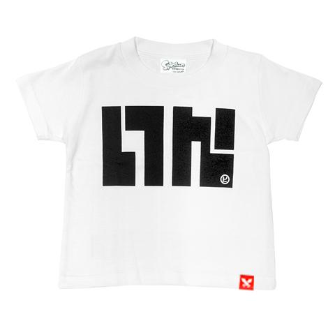 KOG Jr./キッズイカロゴTシャツ(ホワイト) / THE KING OF GAMES