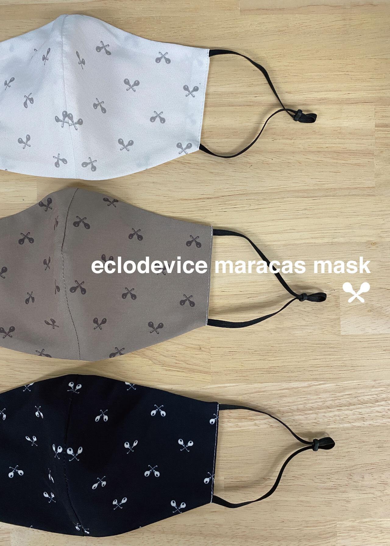 eclodevice maracas mask