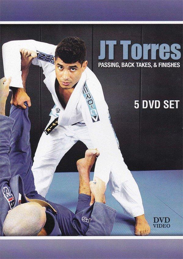 パス、バックテイク&フィニッシュ JTトレス 5枚組DVD ブラジリアン柔術テクニック教則