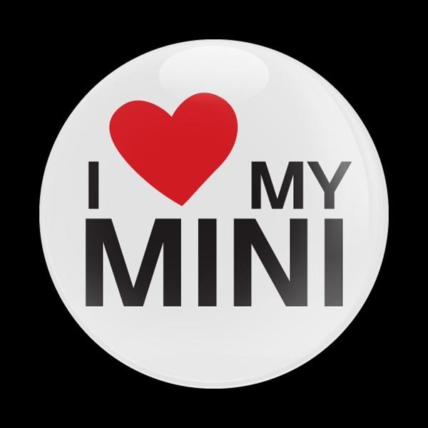 ゴーバッジ(ドーム)(CD0283 - I LOVE MY MINI) - 画像1