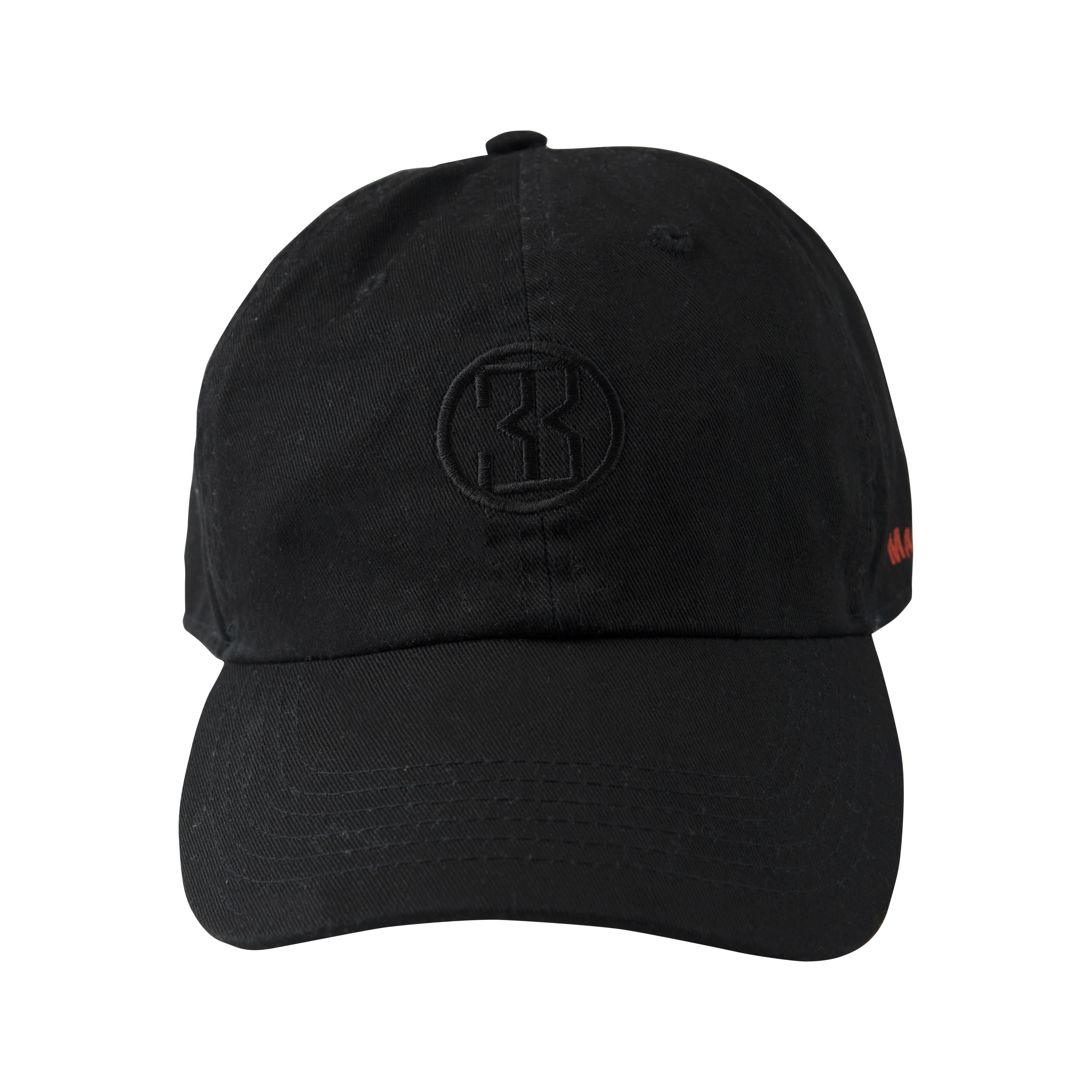 IOM-1 Cap 001(Black)