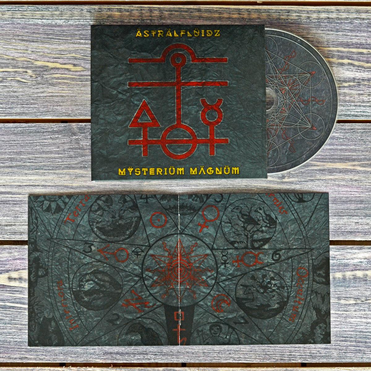 ÄSTRÄLFLÜIDZ - Mÿsteriüm Mägnüm CD - 画像2