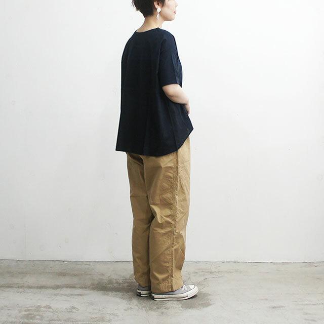 NARU ナル サイロプレミアム×ローンワッシャーVネックTシャツ レディース Tシャツ Vネック 半袖 無地 通販 (品番633225)
