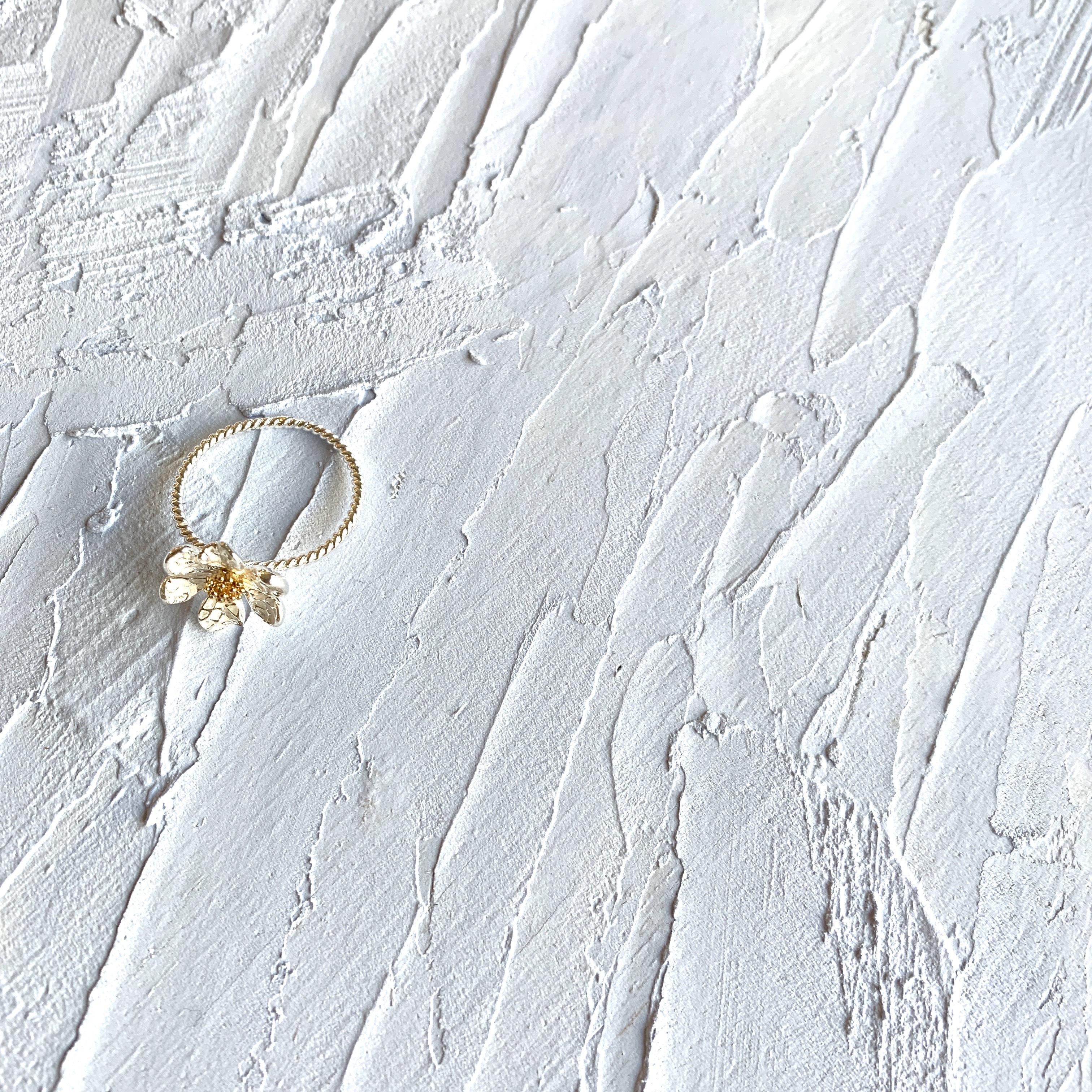 Flower Motif Ring  |フラワーモチーフリング| #sp0177 |【STELLAPARK】