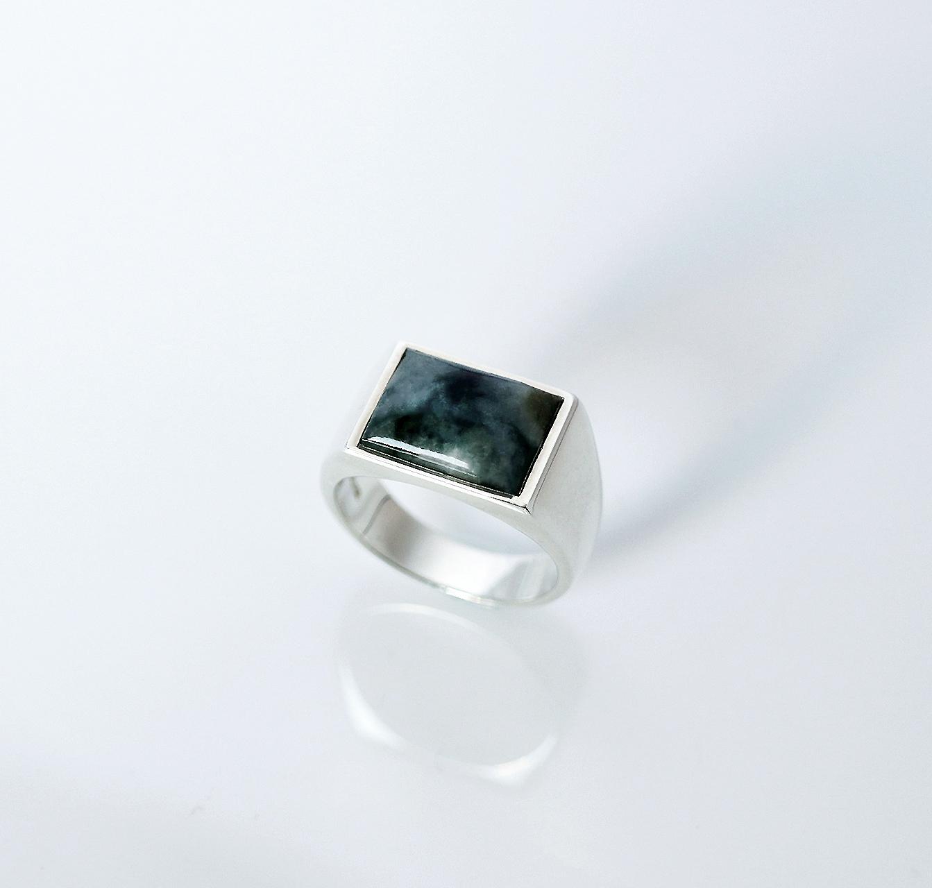 HISUI 'SHIKAKU'  / Ring (Dark Green)
