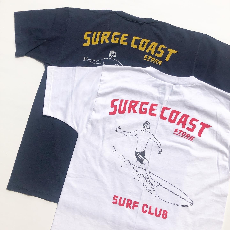 """Surge Coast Store """"SURF CLUB Pocket S/S TEE"""""""