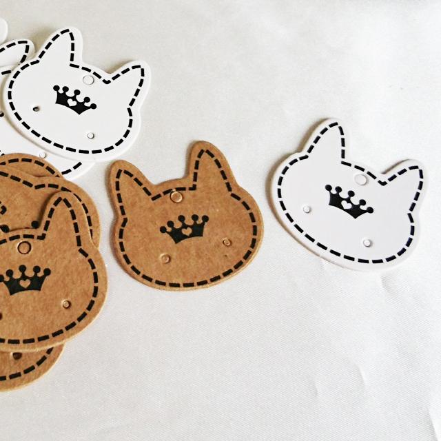 イヤーアクセディスプレイカード・猫(10枚入り) [B03-001]