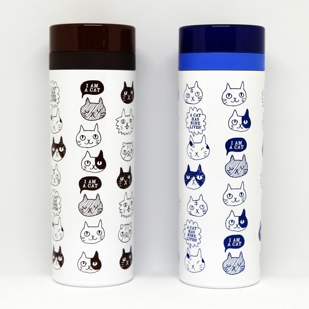 猫ボトル(ポケットスリムボトル)
