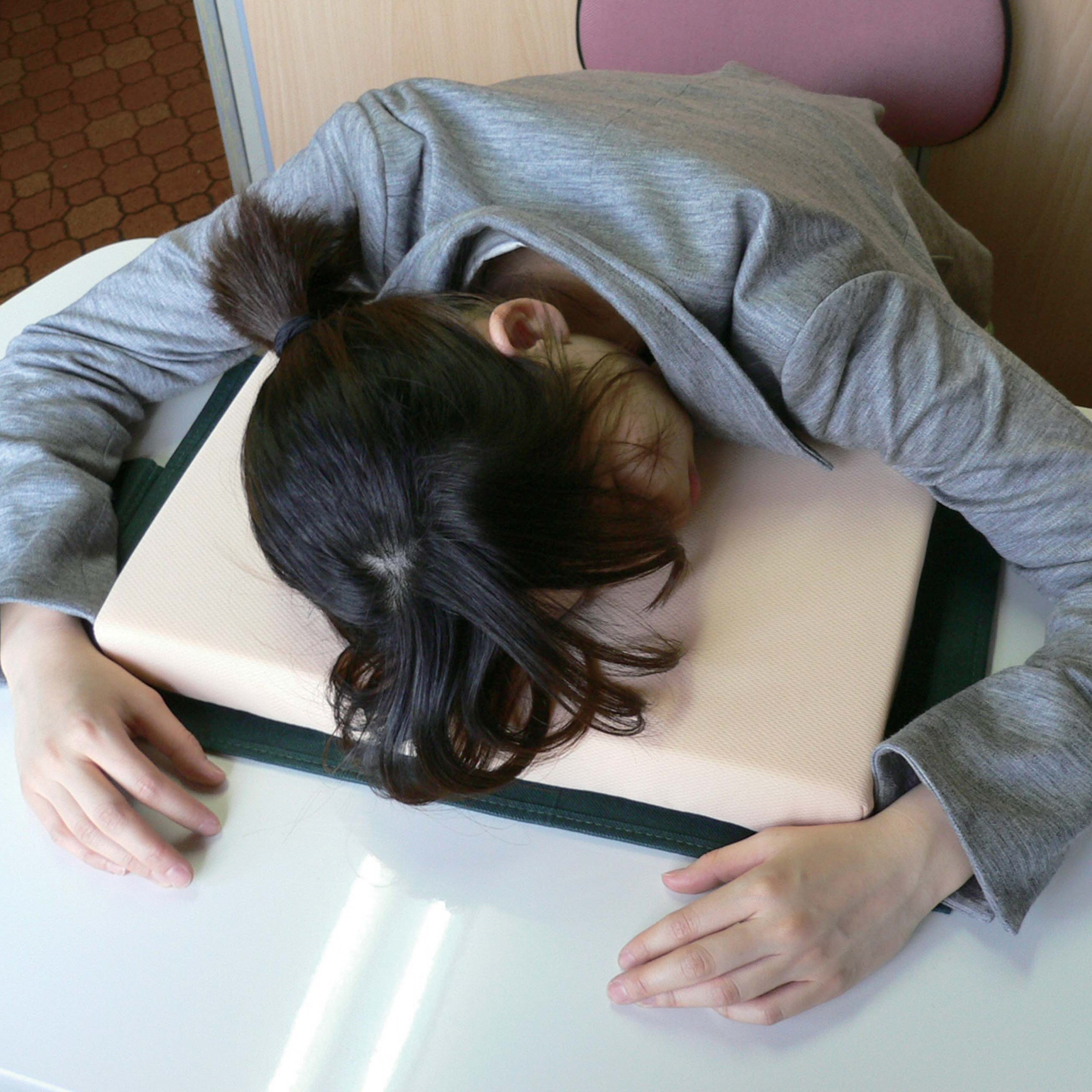 昼寝枕「仕事中毒」