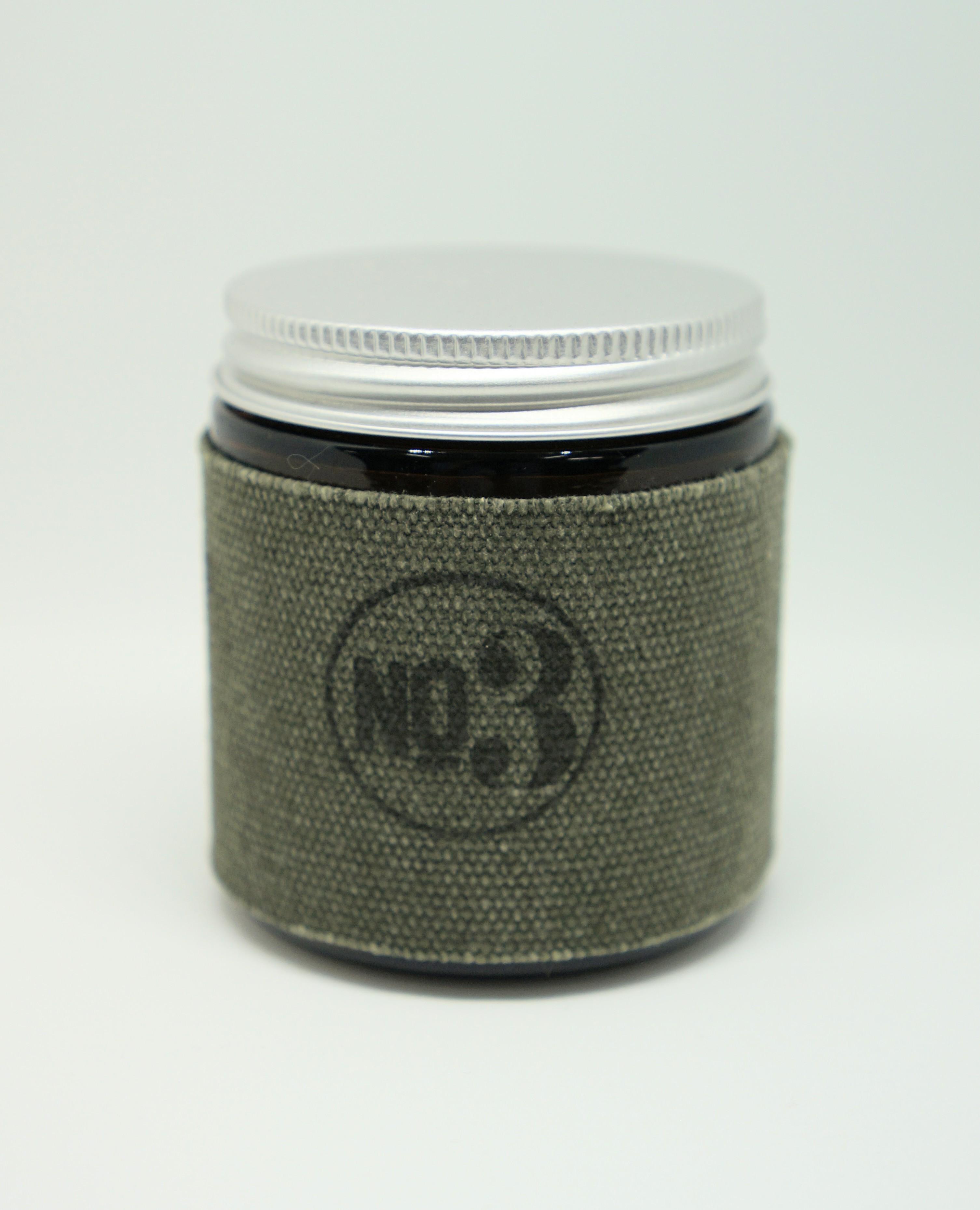 4oz Amber Jar Candle -JASMINE AND SEA SALT- キャンドル Candles - 画像2