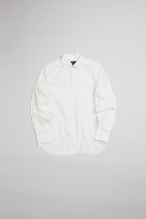 ブリティッシュオフィサーズシャツ ツイル / BRITISH OFFICERS SHIRT TWILL