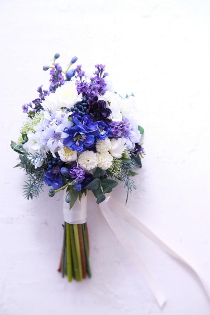 〖 オーダーメイド 〗アーティフィシャルフラワーのウェディングブーケ / 造花のブーケ・Sample Item No,3986652