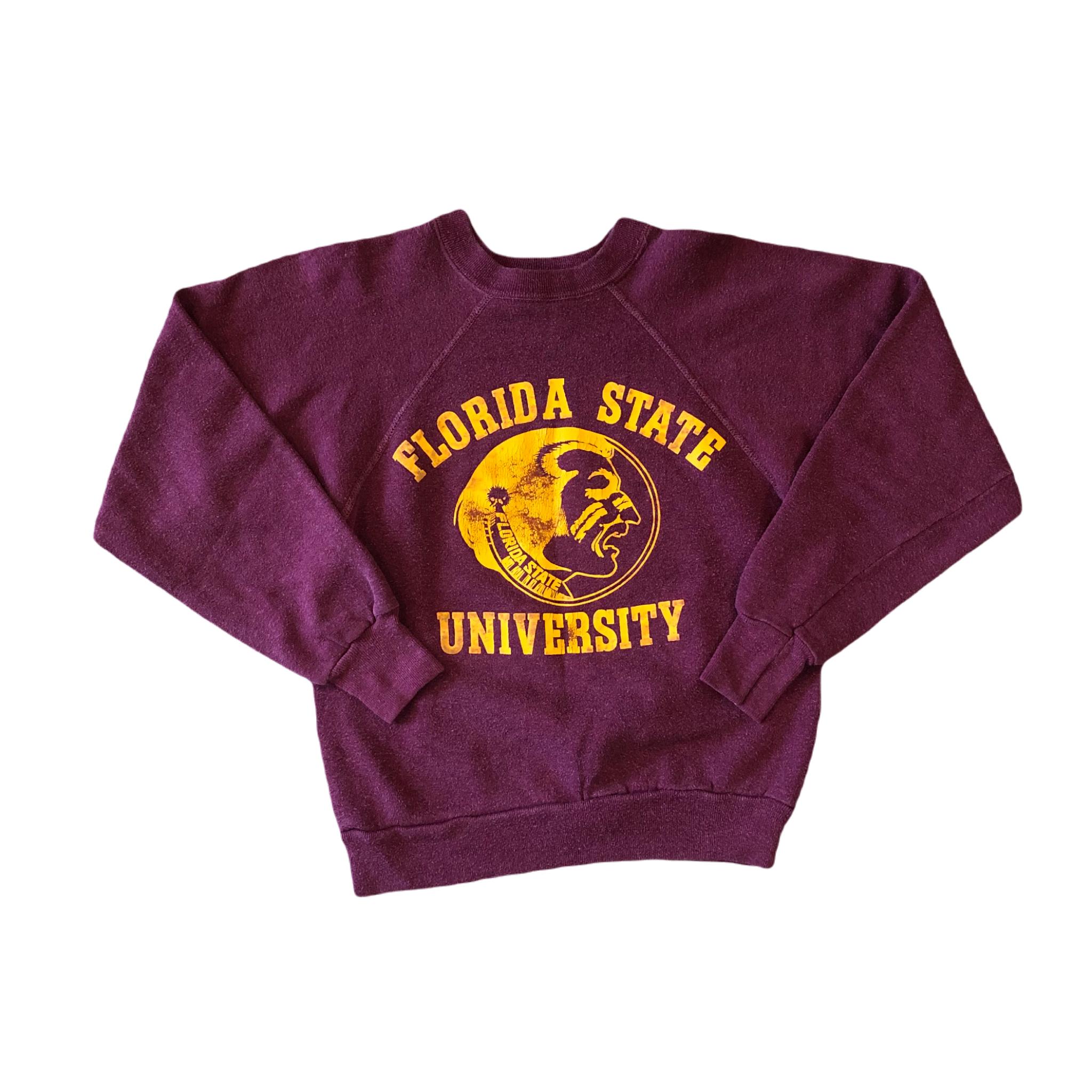 Vintage Florida State University Raglan Sweat ¥7,200+tax