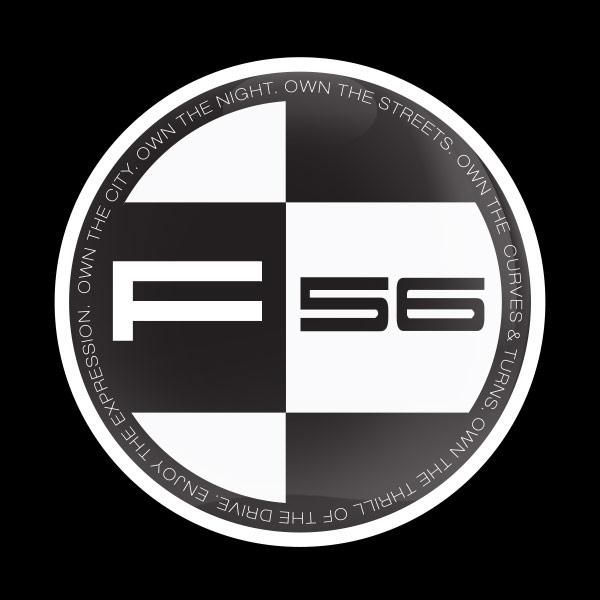 ドームバッジ(CD0922 - MINI F56) - 画像1