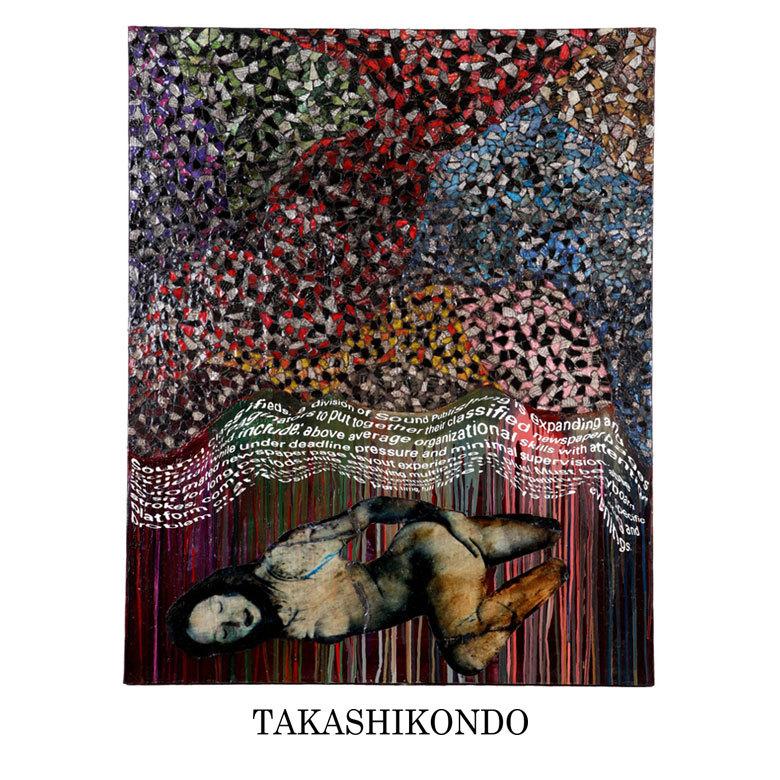 TAKASHIKONDO 絵画 Untitled(#113)