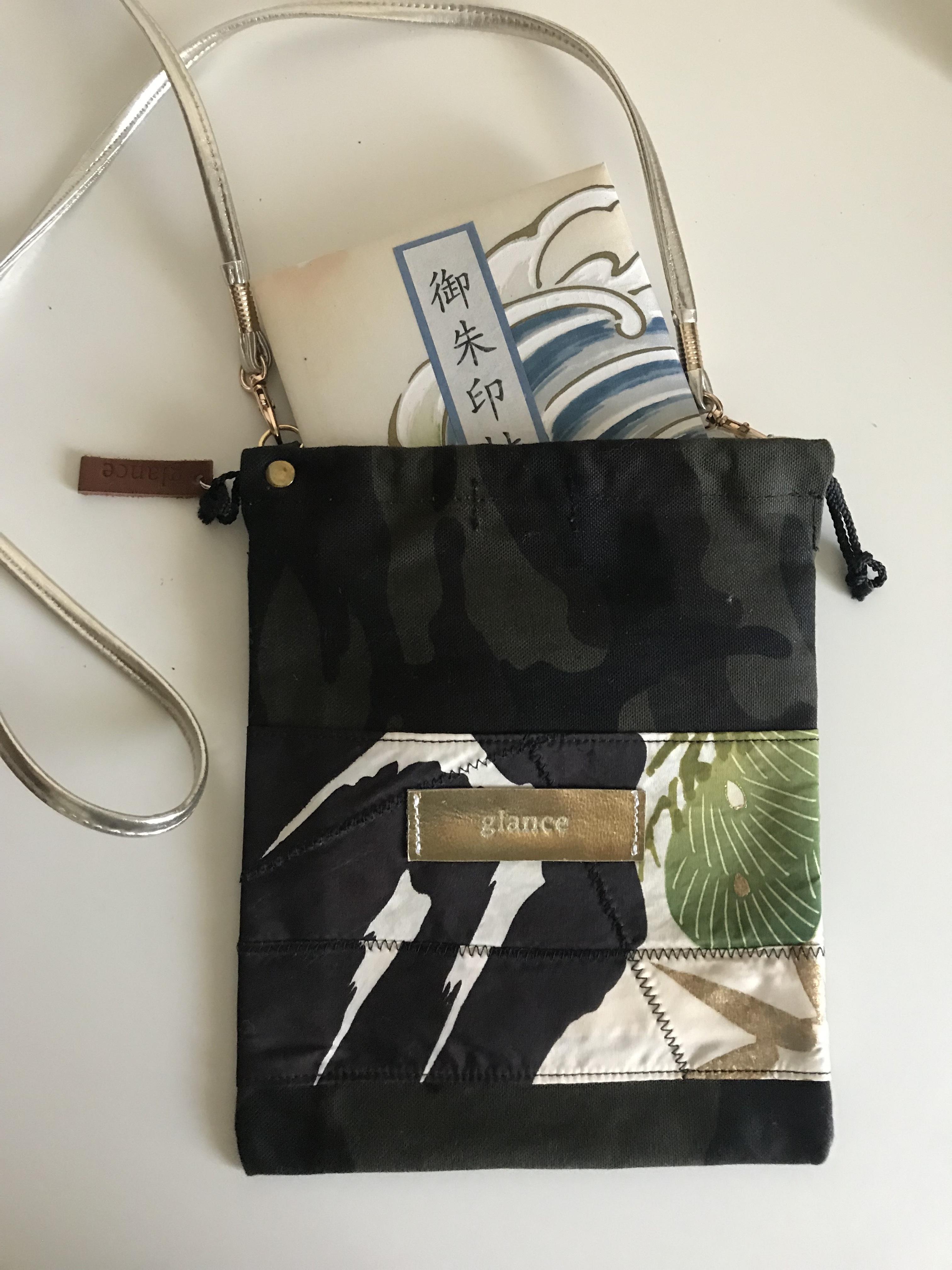 御朱印帳袋(ショルダータイプ)黒 11