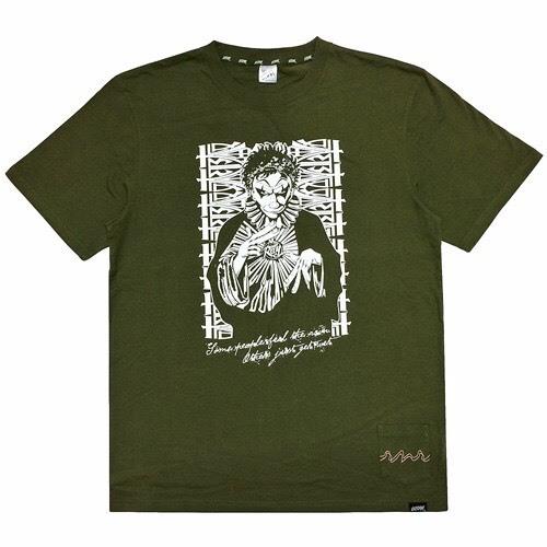 RAY×LEFLAH コラボTシャツ (KHAKI)