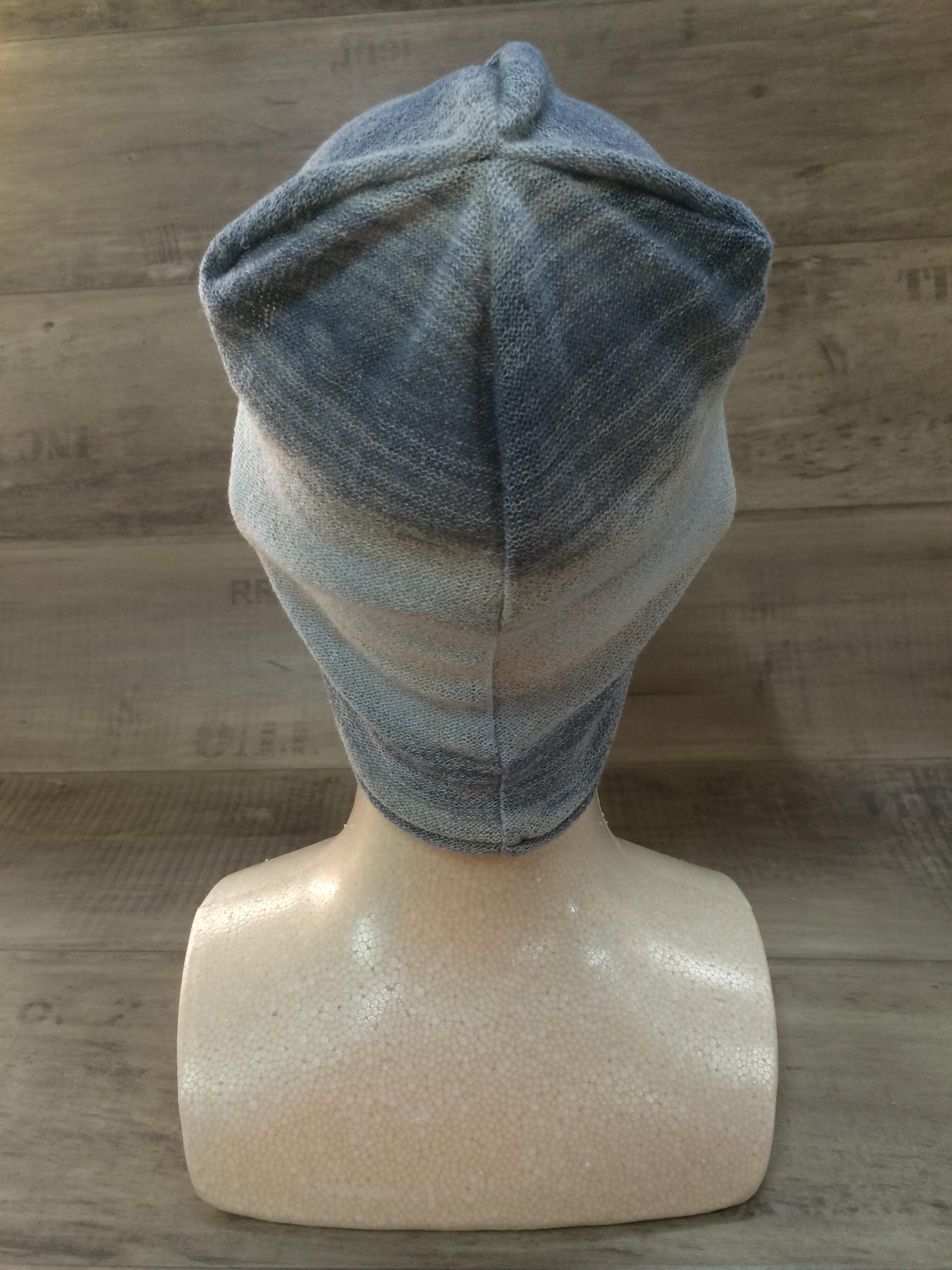 【送料無料】こころが軽くなるニット帽子amuamu|新潟の老舗ニットメーカーが考案した抗がん治療中の脱毛ストレスを軽減する機能性と豊富なデザイン NB-6059|空の海(そらのうみ) - 画像4