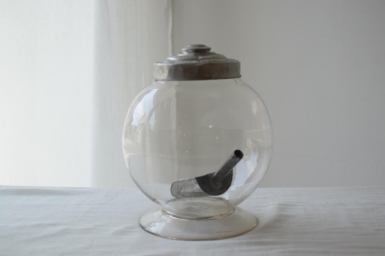 小振りな地球瓶 スコップ付き