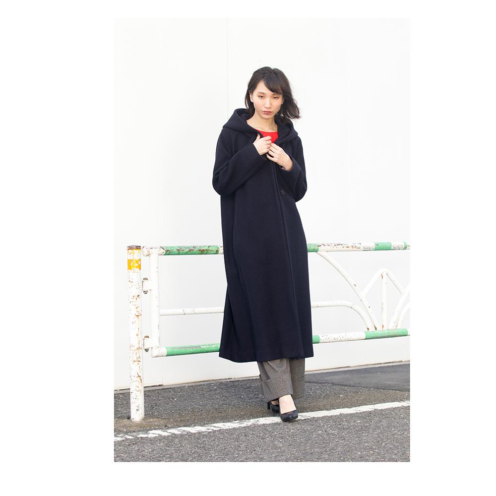 カナッチオ・フード付ロングコート