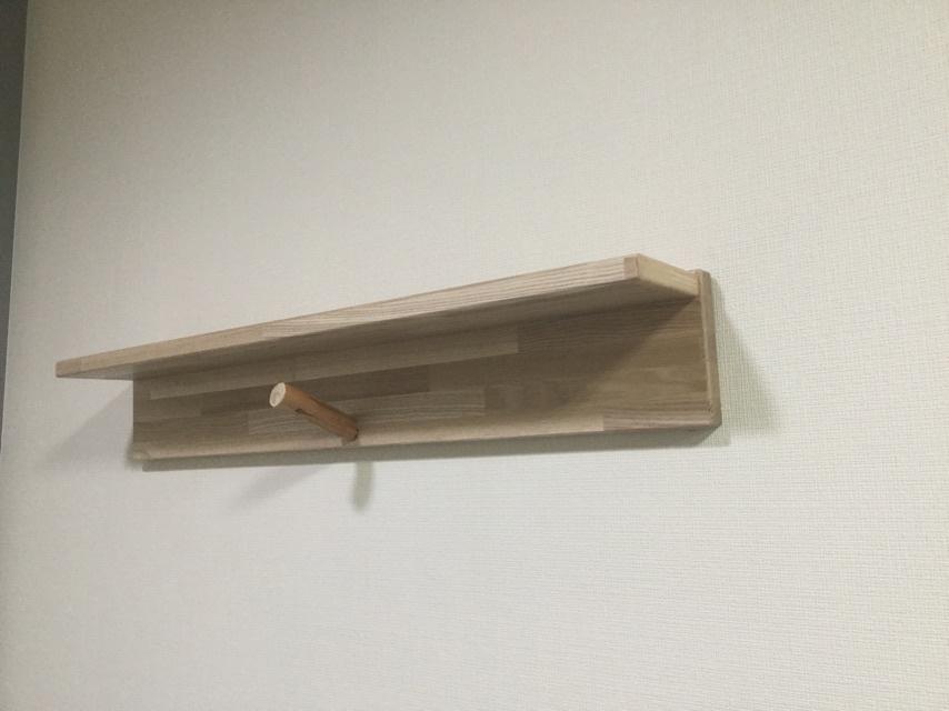 【木製ハンガーラック】  - 画像5