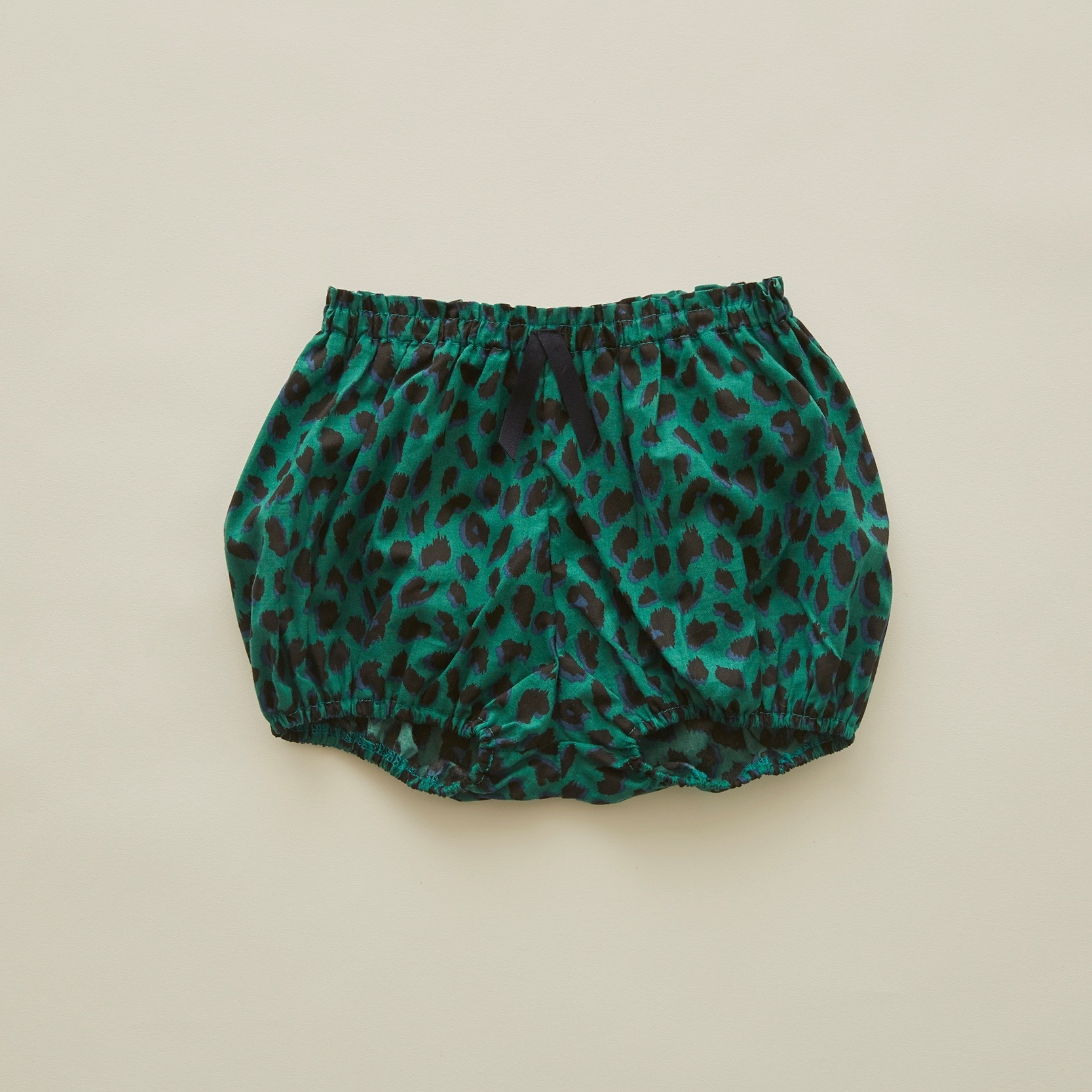 《eLfinFolk 2020SS》leopard bloomers / green