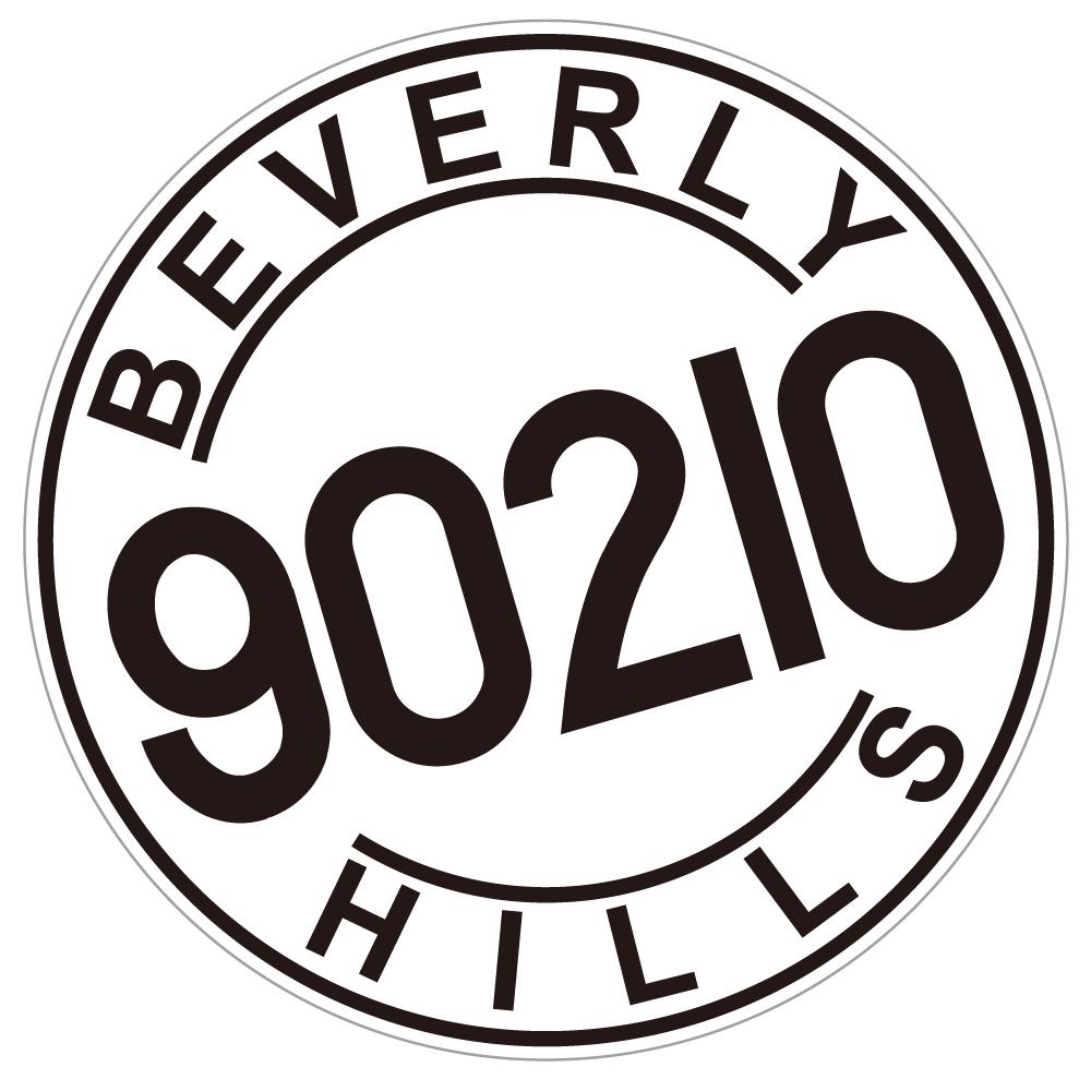 """109 ビバリーヒルズ 90210 """"California Market Center"""" アメリカンステッカー スーツケース シール"""
