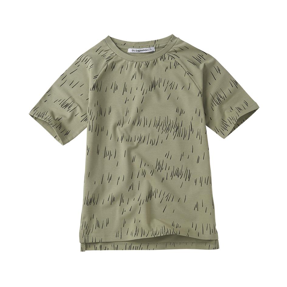 《MINGO. 2020SS》T-shirt / grass print oak