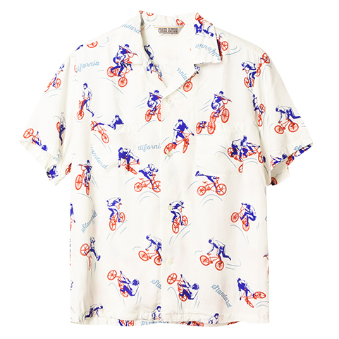 STANDARD CALIFORNIA #SD BMX Hawaiian Shirt