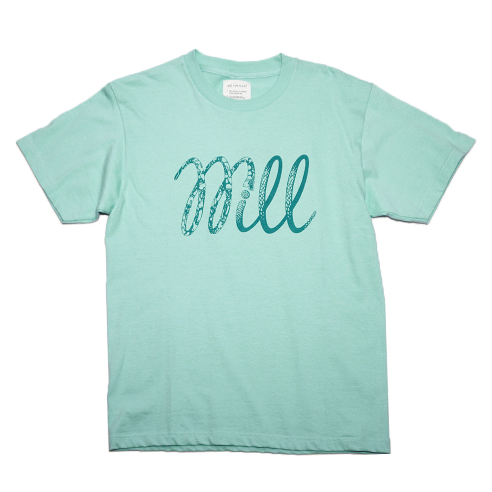 WILL Ying & Yang Tee (ICE GREEN)