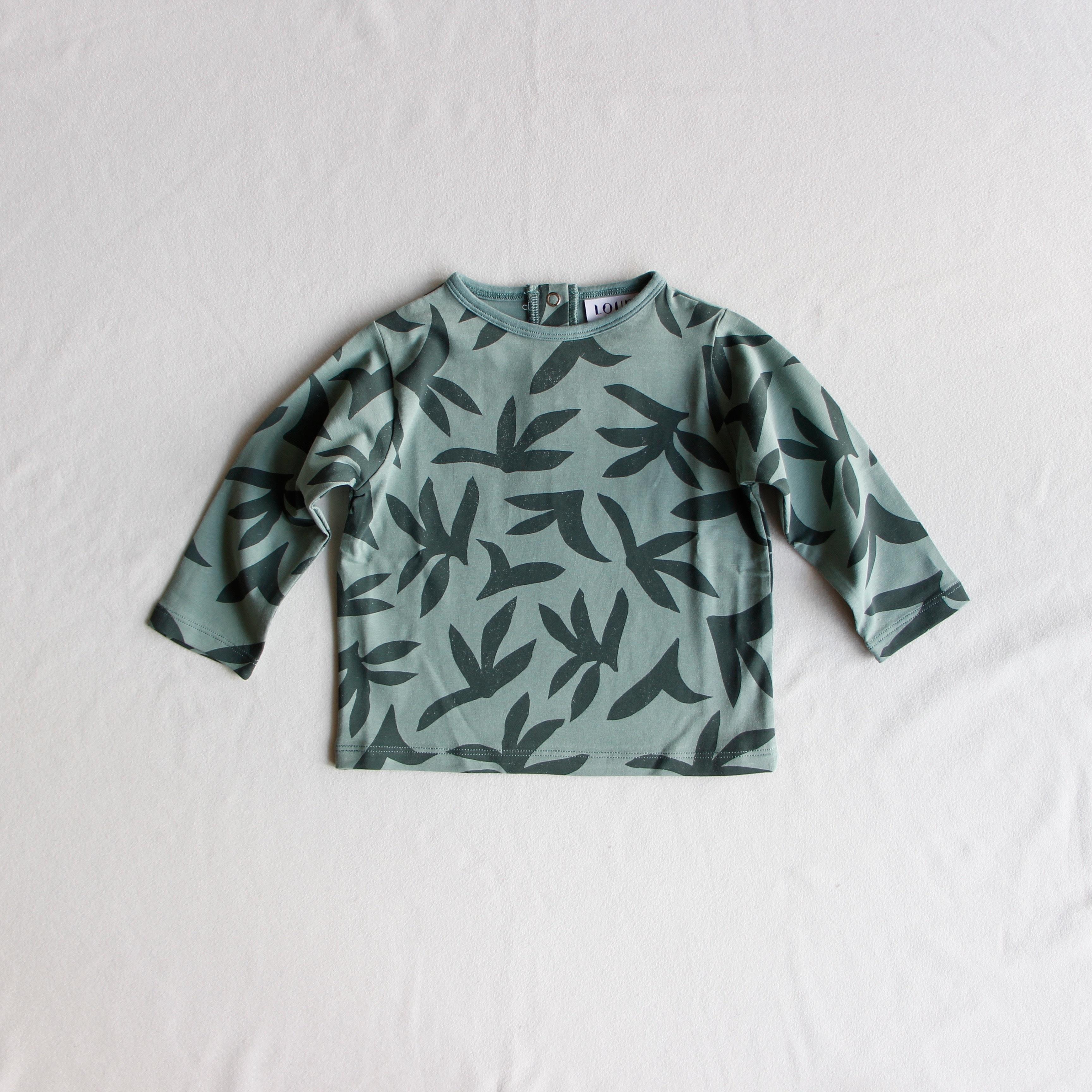 《LOUP 2018AW》Teeshirt FEUIL / green