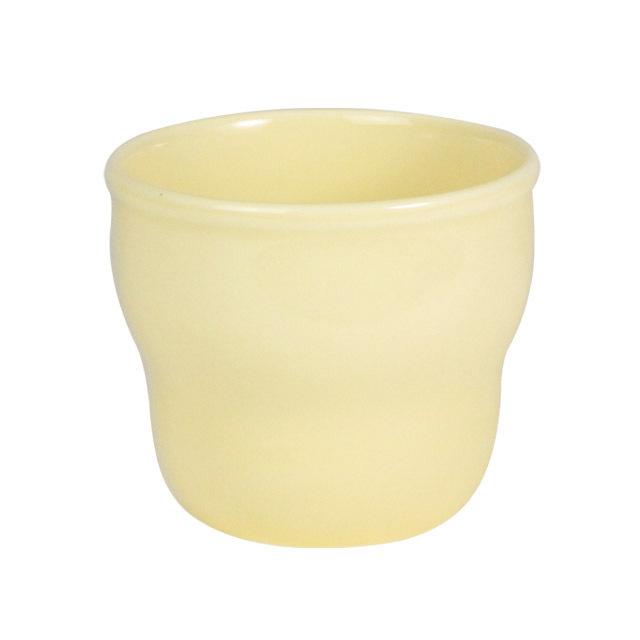 【1986-6250】強化磁器 持ちやすい乳児用カップ(Φ7cm×H6cm/満水150ml) ノアカフェ