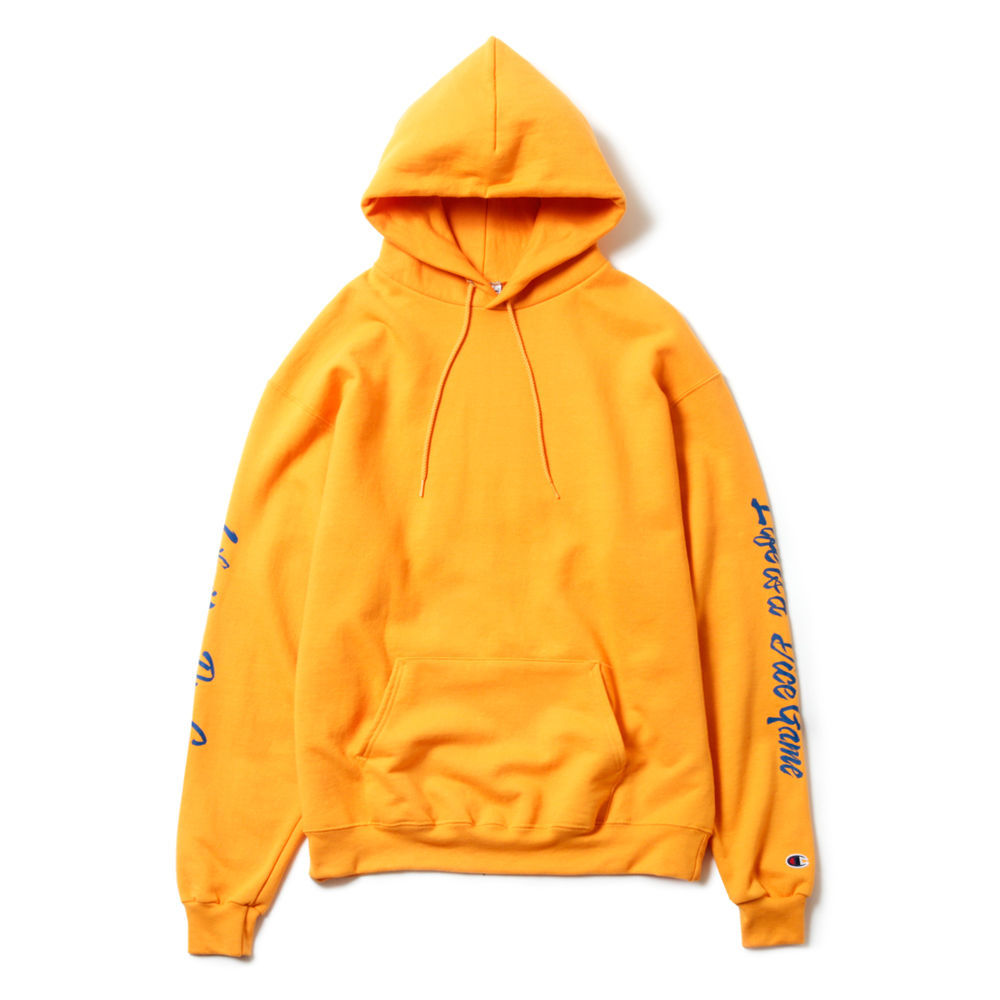 MAGIC STICK Champion CHINKORO Hoodie YELLOW